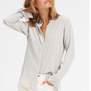 Everlane Relaxed Silk Shirt